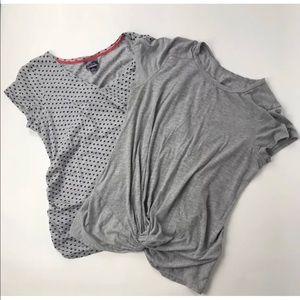 Motherhood Maternity Top Bundle Short Sleeves